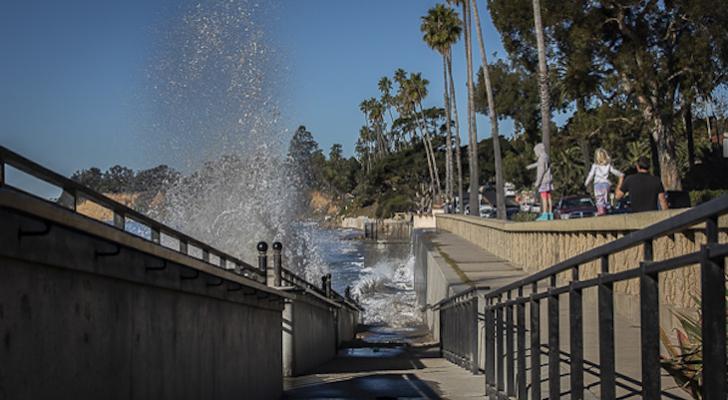 King Tides in Montecito