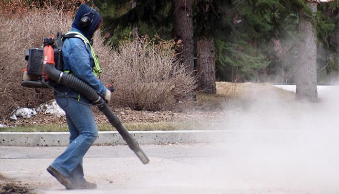 Do Not Use Leaf Blowers title=