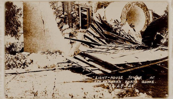The 1925 Quake on the Mesa title=