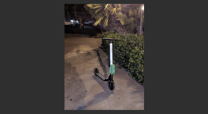 Ride-Share Scooters Still Found Around Santa Barbara title=