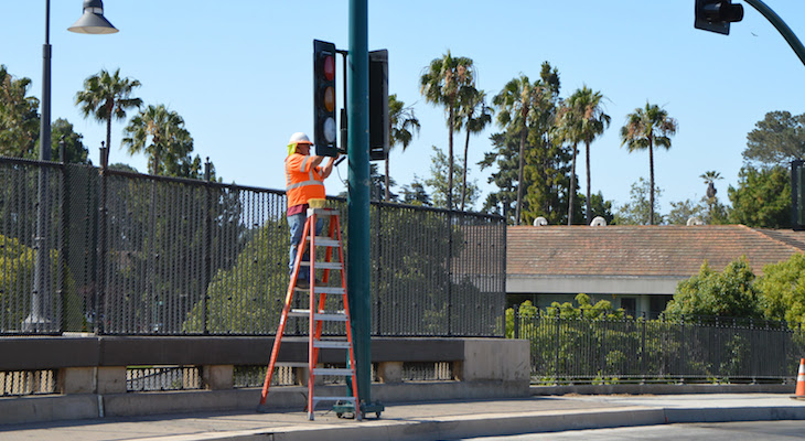 Linden Ave Overpass in Carpinteria Opens title=