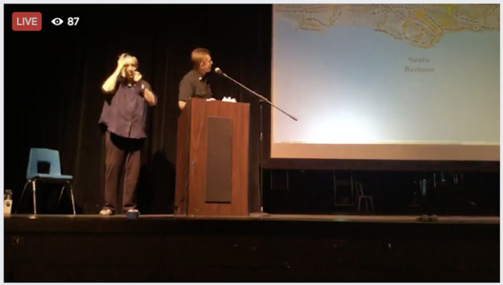 Watch the Community Meeting on Thomas Fire