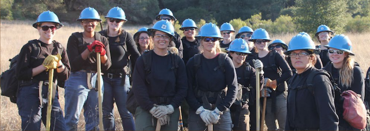 Women in Wildfire Training Camp