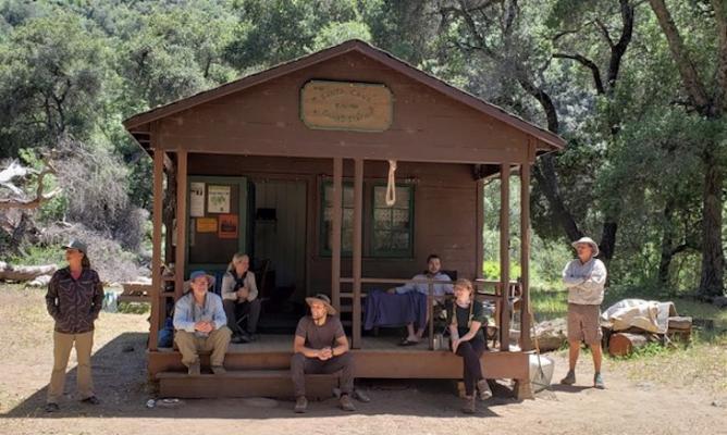 Working Vacation: Volunteers Clear 5 miles of Santa Cruz Trail