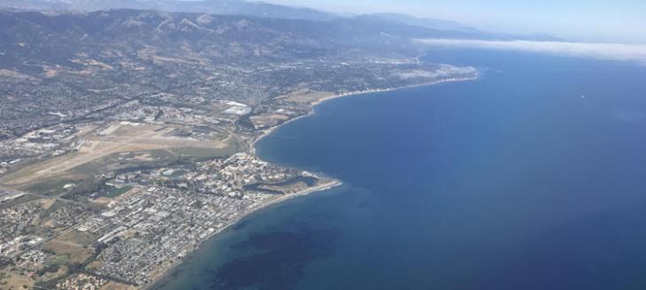 High Above Santa Barbara title=