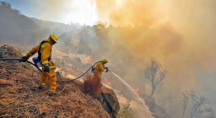Saving Mountain Dwellers from Wildfire