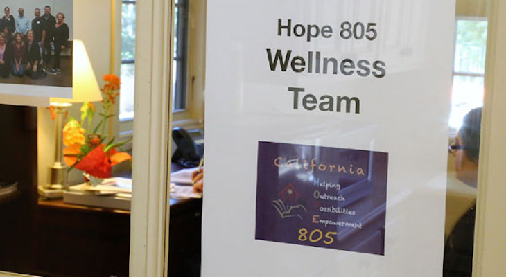 Community Wellness Team adds California HOPE 805 title=