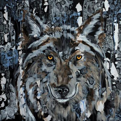 Winter Wolf, by  Tracy Miller