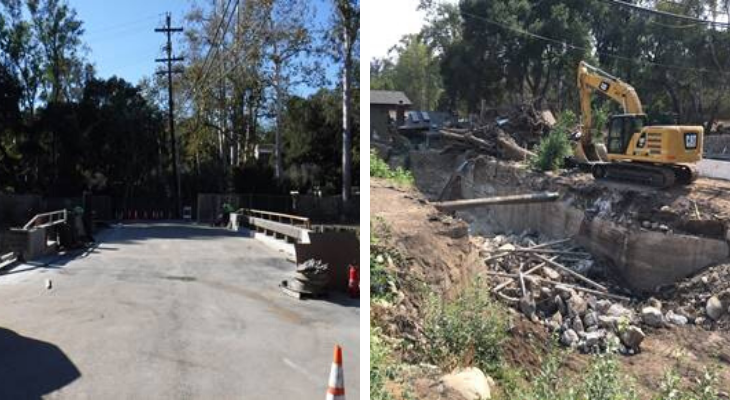 Montecito Creek Bridge Opens Friday