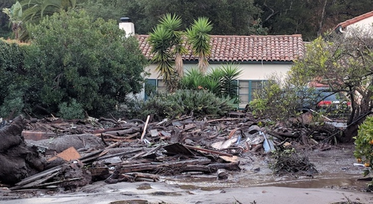 Judge Rules Thomas Fire & Montecito Debris Flow Cases To Be in Los Angeles County Superior Court