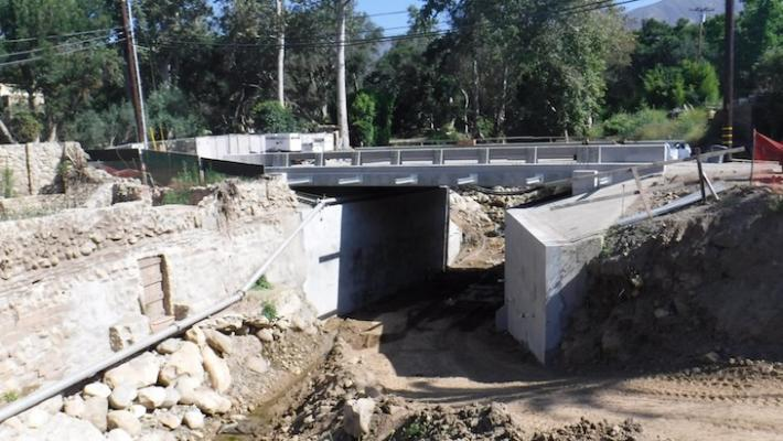 Montecito Bridge Construction Nearly Complete