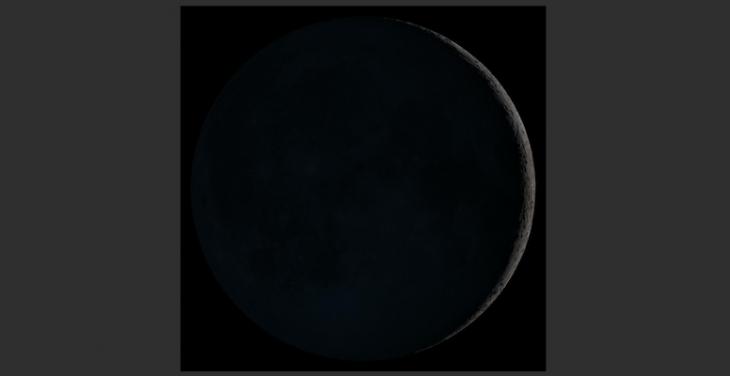 Venus, the Moon, and Jupiter
