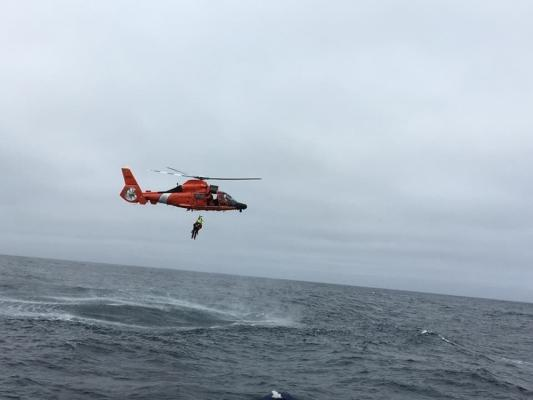 Coast Guard Rescues Two People in Distress title=