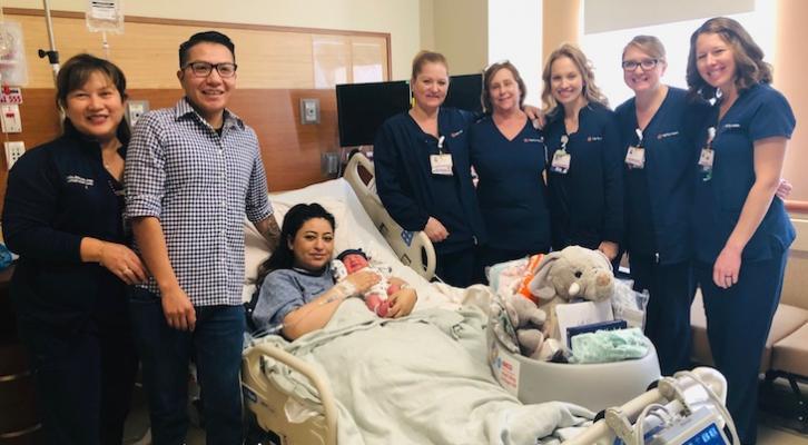 First Santa Barbara County Baby of 2020 Born title=