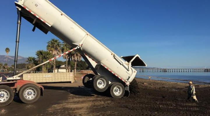 UCSB Team Tests for Fecal Matter at Goleta Beach title=