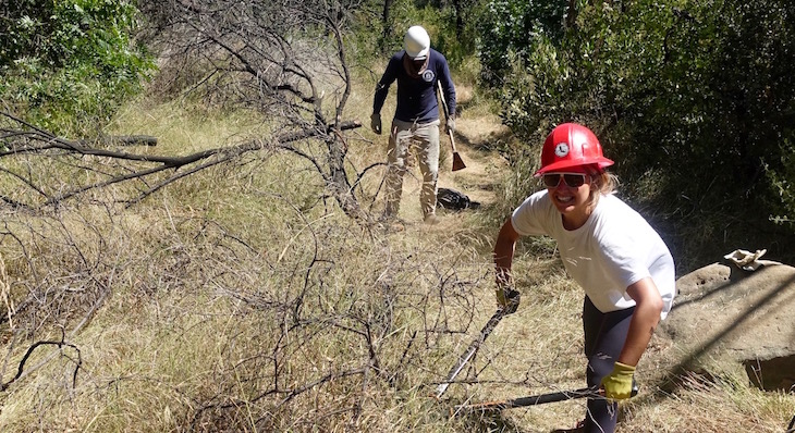 Historic Trail Restoration Reaches Home Stretch