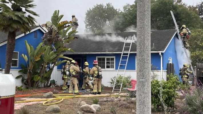 Photo courtesy of The Santa Barbara City Fire Department