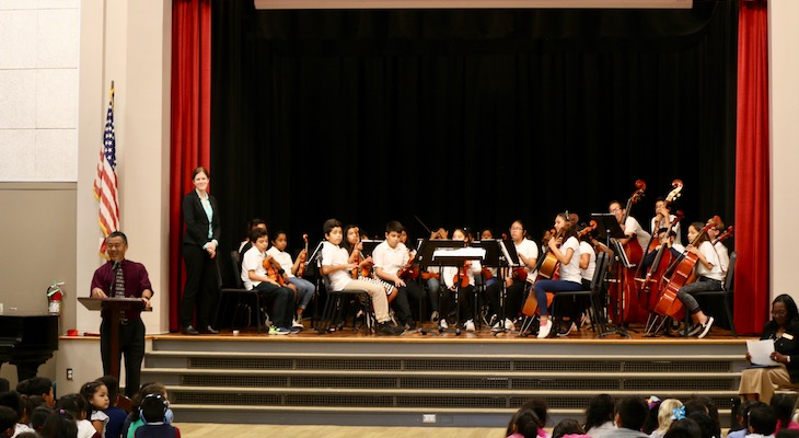 SBUSD Music Education Program Receives National Recognition title=