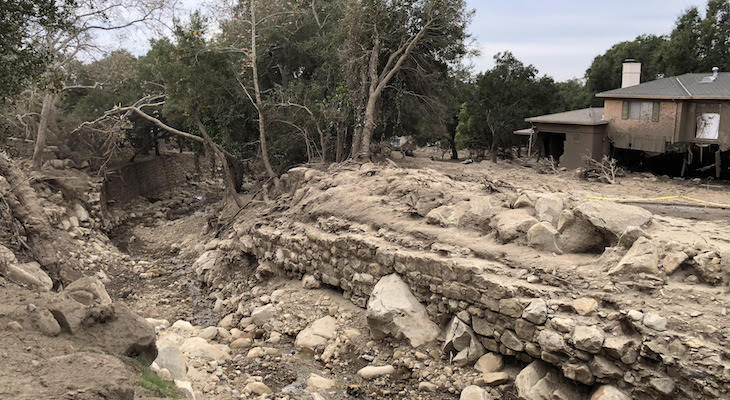 Views of Montecito 3 Weeks After the Mudslide title=