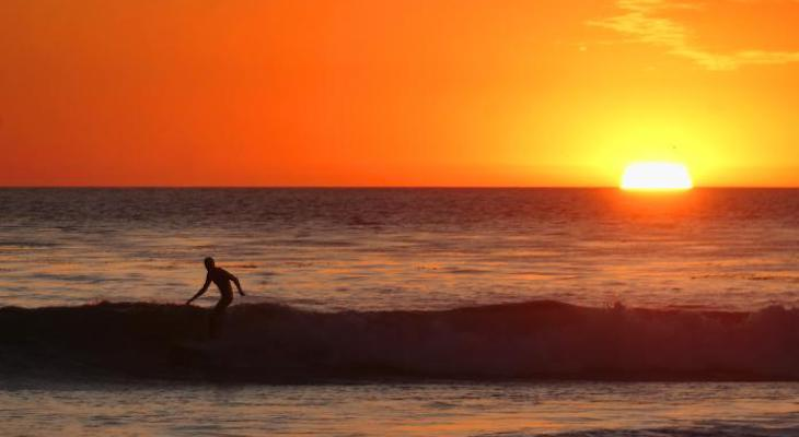 Surfing Year's End