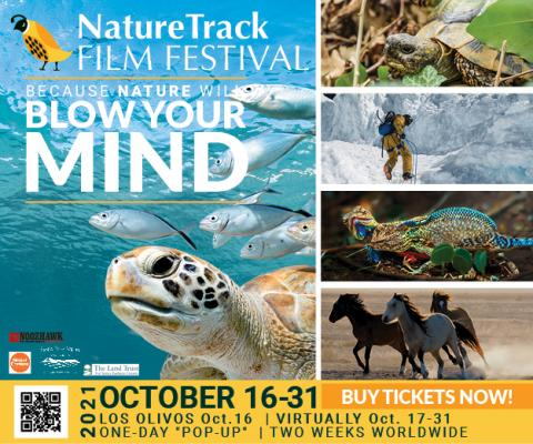 One-Day Live & in person film festival  https://naturetrackfilmfestival.org/tickets/