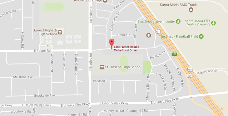 Attempted Kidnapping of High School Student in Orcutt