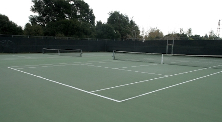 Ribbon Cutting for Kellogg Tennis Court Replacement Project