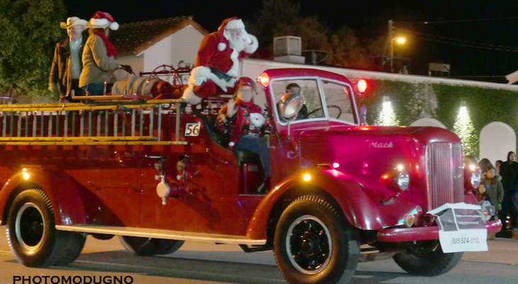 Goleta's Old Town Christmas Parade Draws a Crowd title=