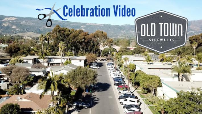 Old Town Goleta Sidewalks Celebration Video title=