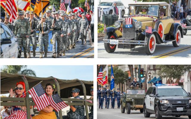 Salute Vets at Saturday's Veterans Day Parade