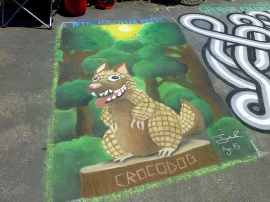 I Madonnari Street Painting Festival