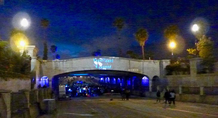 State Street Underpass Interactive Light Art Installation