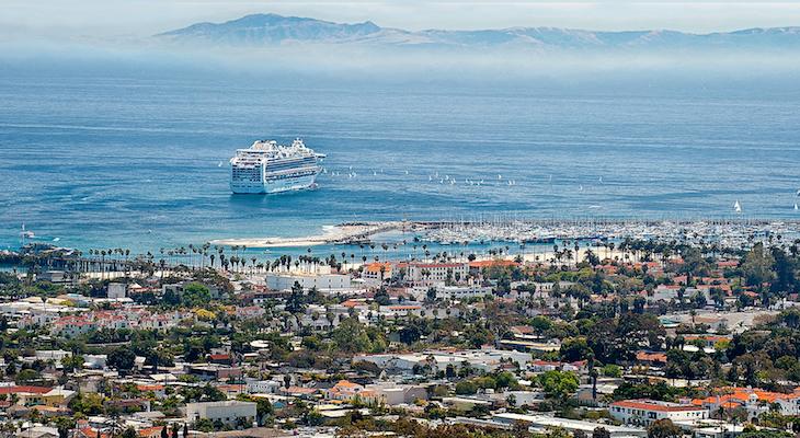 Princess Cruises Cancels Santa Barbara Visit Over Coronavirus Outbreak title=