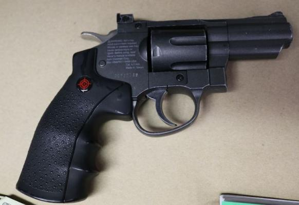 Suspect Arrested with Narcotics for Sale and Replica Firearm
