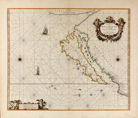 SB's Museum of Natural History Exhibits Antique Pacific Coast Maps