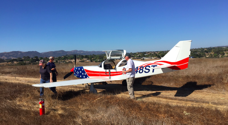 No Injuries in Santa Ynez Plane Crash