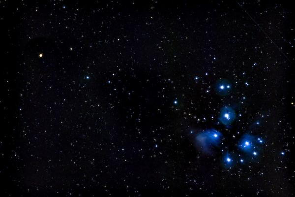 Mars and Pleiades Conjunction