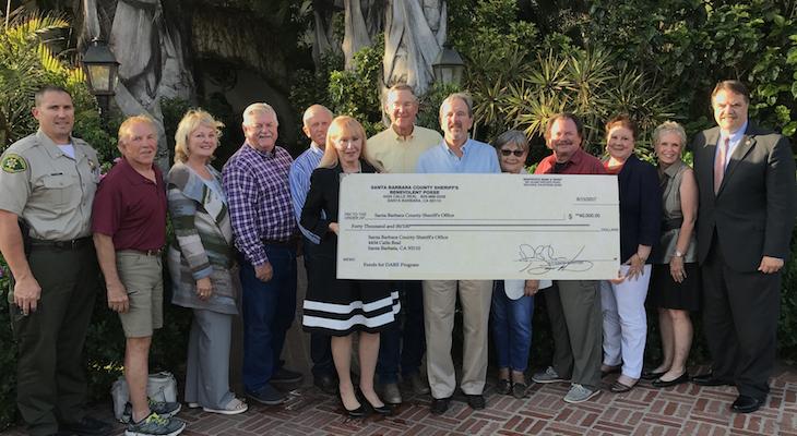 Sheriff's Benevolent Posse Donates $40,000 to D.A.R.E.