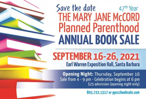 Mary Jane McCord Planned Parenthood Book Sale title=