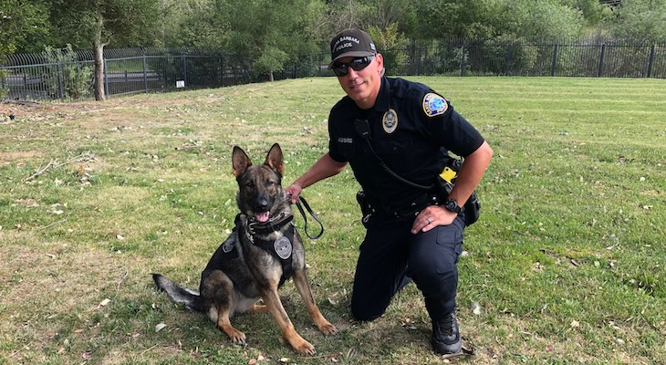 Santa Barbara Police Welcome K9 Kyra to the Force