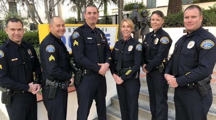 Santa Barbara Police Chief Promotions | Edhat