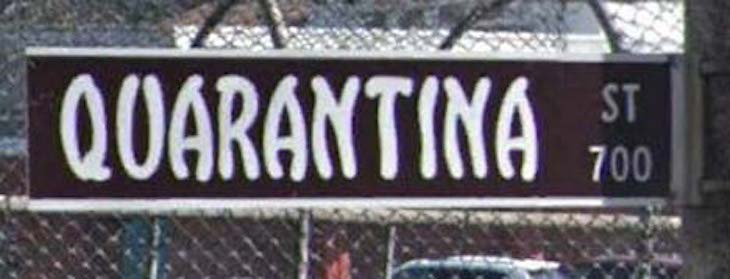 The History of Quarantina Street