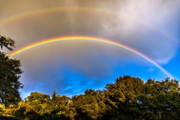 Double Rainbow title=