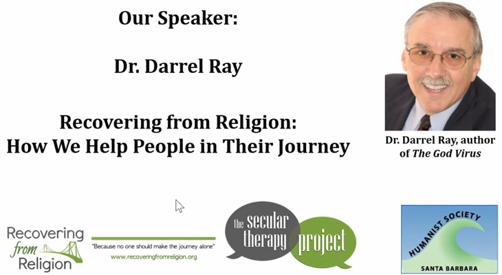 Darrel Ray: Recovering From Religion title=