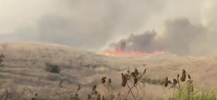Evacuations Lifted Near El Capitan Wildfire