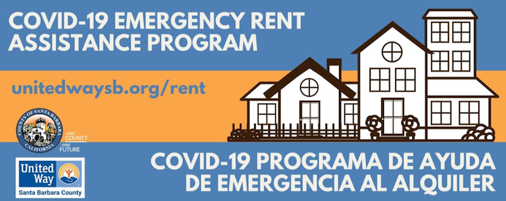 County of Santa Barbara Emergency Rental Assistance Funds Available to City Residents