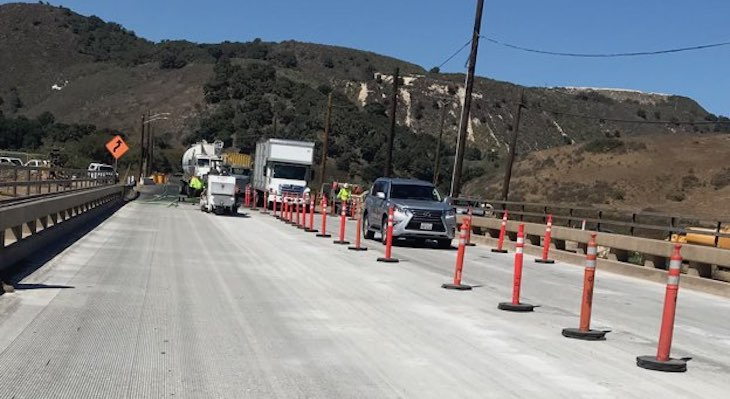 Two-Way Traffic Returns To Salsipuedes Creek Bridge Friday title=