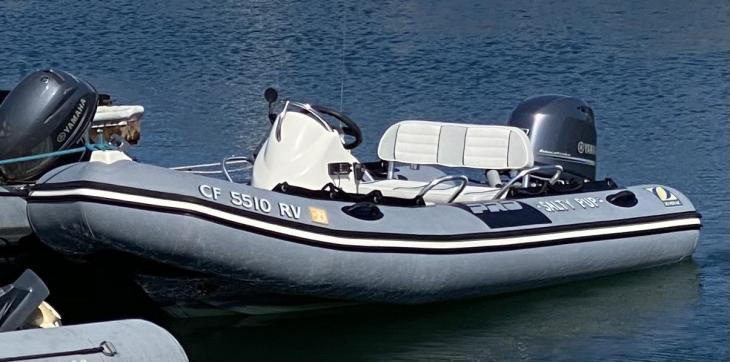 Photo of the stolen boat