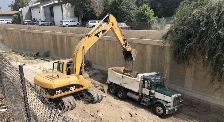San Jose Creek Emergency Storm Damage Repairs