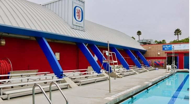 San Marcos High School Celebrates Pool Deck Resurfacing title=